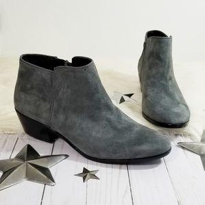 Sam Edelman Petty ankle boots dark gray suede 9.5